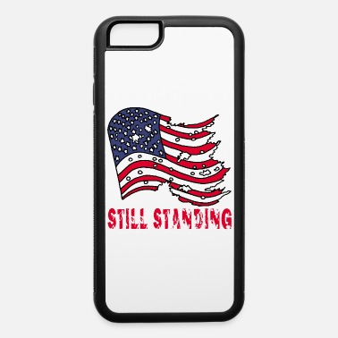 Torn Torn american flag - iPhone 6 Case