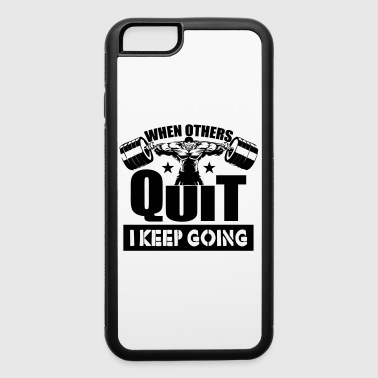 Lift Gym Quotes Sports - iPhone 6/6s Rubber Case