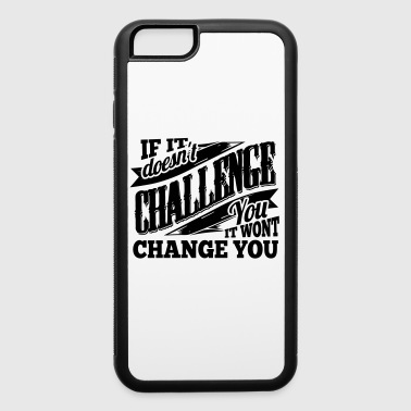 Change Gym Sports Quotes - iPhone 6/6s Rubber Case
