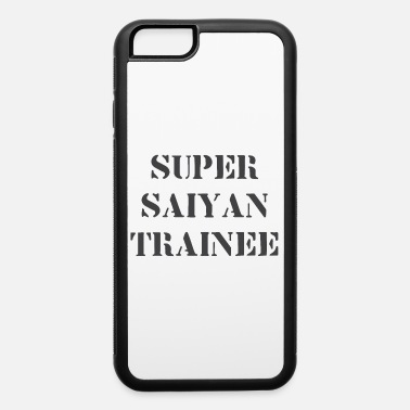 Super Saiyan Trainee Old School Anime Military - iPhone 6 Case