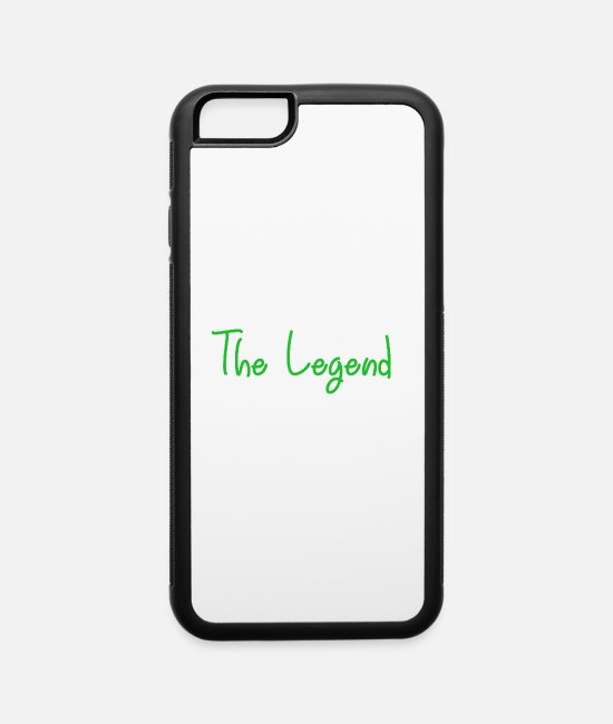 Pregnancy iPhone Cases - The Legend - iPhone 6 Case white/black