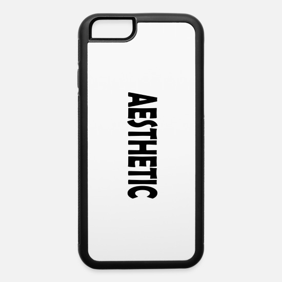 Aesthetic iPhone Cases - Aesthetic - iPhone 6 Case white/black