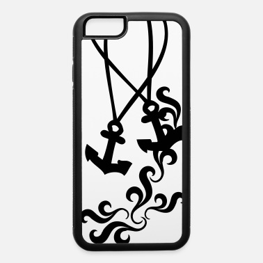 Curly Anchor necklace - iPhone 6 Case