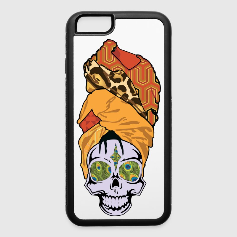 ERYKAH BADU SKULLY - iPhone 6/6s Rubber Case