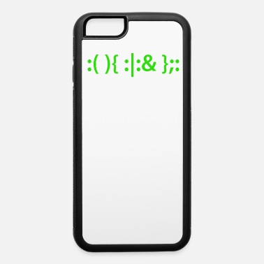 Fork Bomb Bash Fork Bomb Shirt for Linux Unix Geeks - iPhone 6 Case