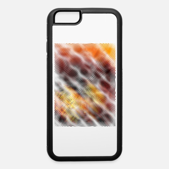 Pink iPhone Cases - ripples - iPhone 6 Case white/black