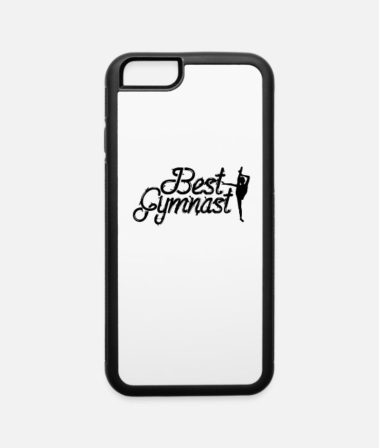 Rhytm Gymnastics iPhone Cases - Sports Gymnastics Gymnast - iPhone 6 Case white/black