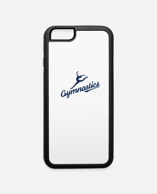 Gymnast iPhone Cases - Sport Gymnastics Gymnast - iPhone 6 Case white/black