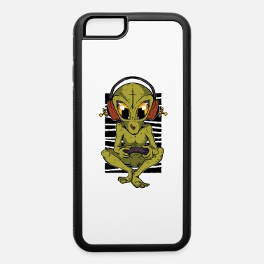 Aliens game lover lovers Illustration - iPhone 6 Case