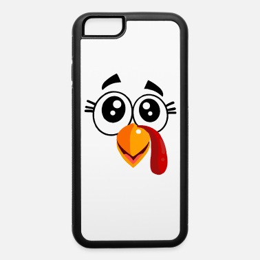Adult Thanksgiving Turkey Face - iPhone 6 Case