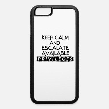 Admin Network Admin IT Security Admin - iPhone 6 Case