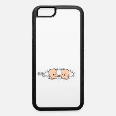 Twin Mom Mom Of Twin Pregnancy Twins Mom Pregnant With - iPhone 6 Case