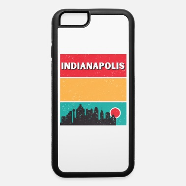 Indianapolis Retro Indianapolis City Indiana Skyline Vintage - iPhone 6 Case