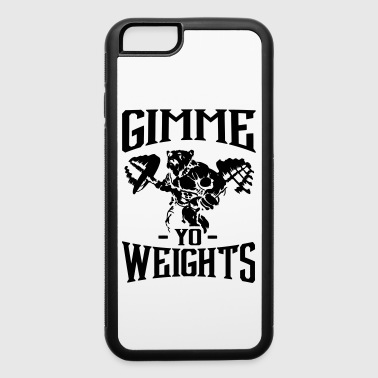 Weights Gym Fitness Sport - iPhone 6/6s Rubber Case