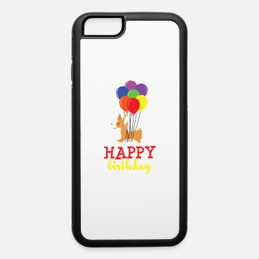 Balloon Dog with balloons for birthday outfit - iPhone 6 Case