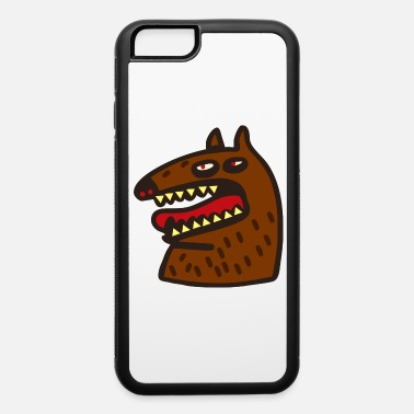 Brown brown monster - iPhone 6 Case