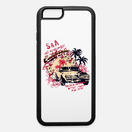 Sportscar iPhone Cases - Car - iPhone 6 Case white/black