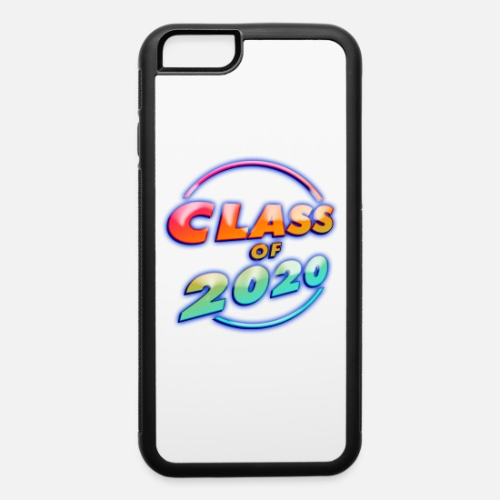 2020 iPhone Cases - Class of 2020 Neon - iPhone 6 Case white/black