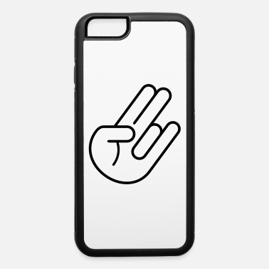 Race Car Outline JDM Hand (Outline) - iPhone 6 Case