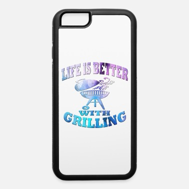 Sausage Grilling - iPhone 6/6s Rubber Case