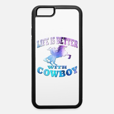 Western Riding Cowboy - iPhone 6/6s Rubber Case