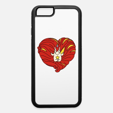 Horse And Heart unicorn with heart - iPhone 6 Case