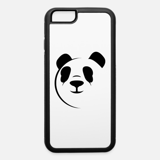 Feet iPhone Cases - panda bear,bear,panda,animal - iPhone 6 Case white/black