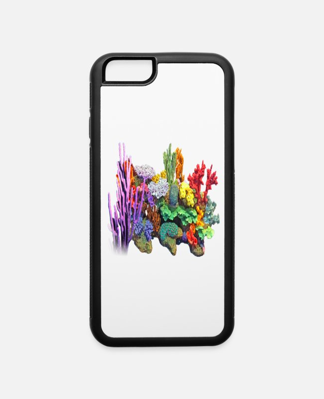 Reef iPhone Cases - Coral - iPhone 6 Case white/black