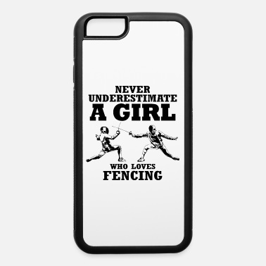 Girls Fencing Girl fencing gift fencer sport - iPhone 6 Case