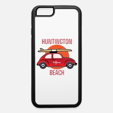 Huntington Beach Huntington Beach California Retro Surf - iPhone 6 Case