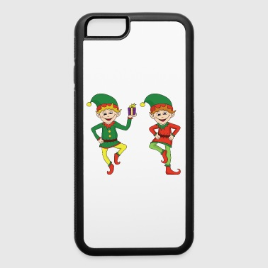 Christmas Xmas Elf Elves - iPhone 6/6s Rubber Case