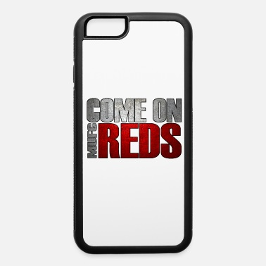 Kung-fu Manchester United football club reds england - iPhone 6/6s Rubber Case