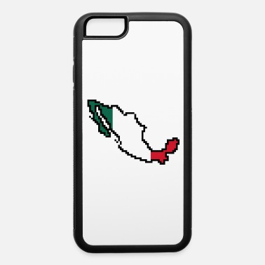 8bits Mexico Map and Flag Pixel Art - iPhone 6 Case
