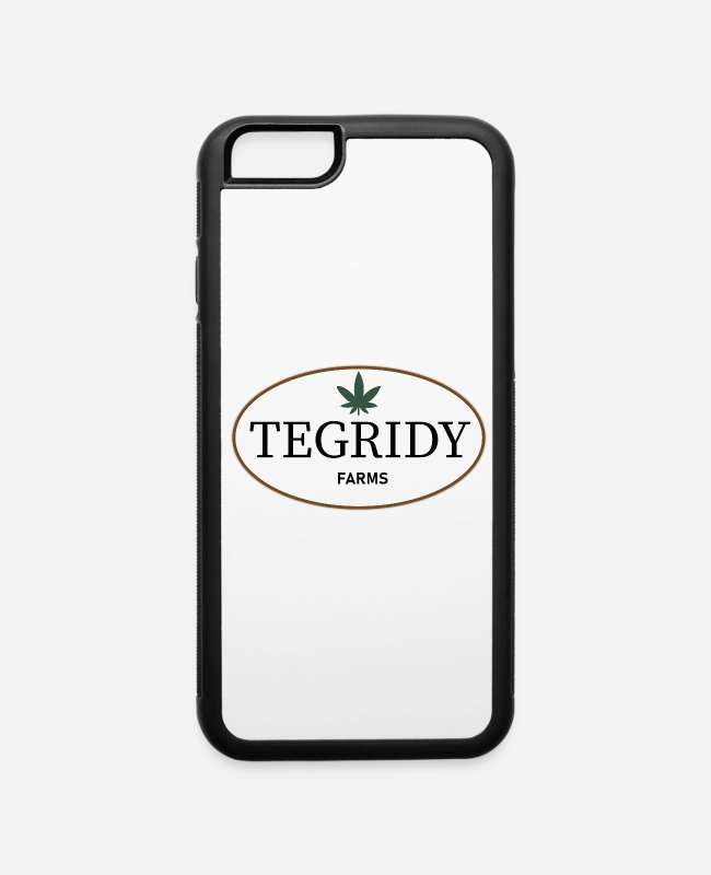 Mary Jane Weed iPhone Cases - 22nd Century Movies & TV Tegridy Farms Farming - iPhone 6 Case white/black