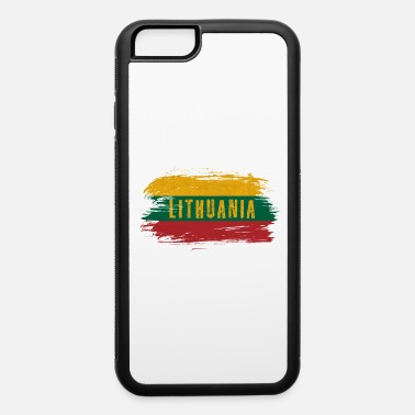 Central Europe Lithuania Vintage Flag / Gift Vilnius - iPhone 6 Case