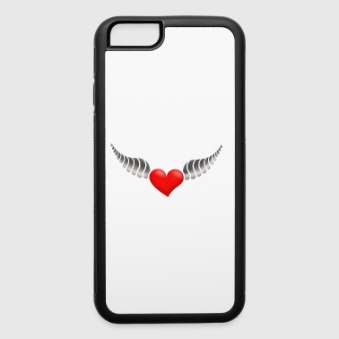 Heart With Wings heart with wings - iPhone 6/6s Rubber Case