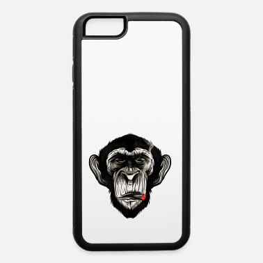Hipster Cigar Chimp - iPhone 6 Case