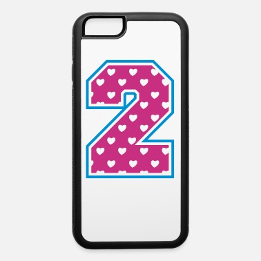 Two 2 - Two - Number two - iPhone 6/6s Rubber Case