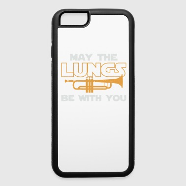 Music May The Lungs Be With You - iPhone 6/6s Rubber Case