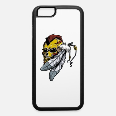 Indian Tribe Indian Tribe - No Reserve Tribe - Indian Skull 2 - iPhone 6 Case