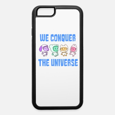 Ufo Conquest universe dog Bear Cat Rabbit Gift - iPhone 6 Case