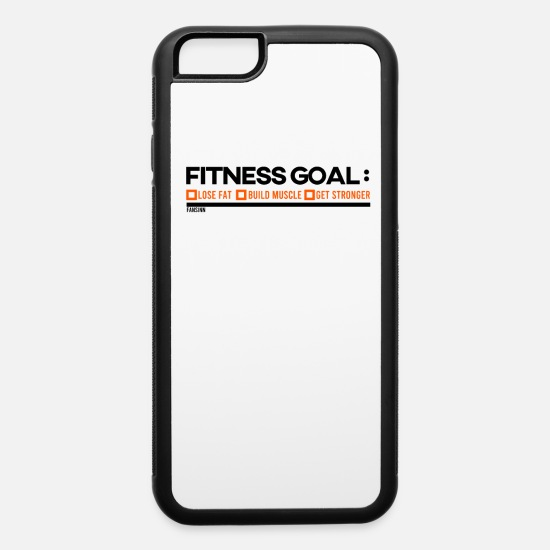Strong iPhone Cases - Target body Fitness Body - iPhone 6 Case white/black