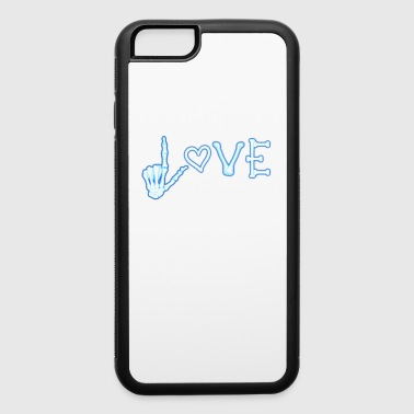 Love Xray Radiology Medicine Radiologist Nurse - iPhone 6/6s Rubber Case