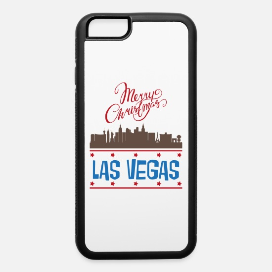 Vegas iPhone Cases - Las Vegas - iPhone 6 Case white/black