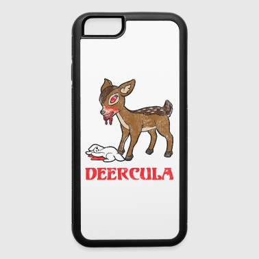 Retro Vintage Halloween Horror Deer Rabbit Bunny - iPhone 6/6s Rubber Case