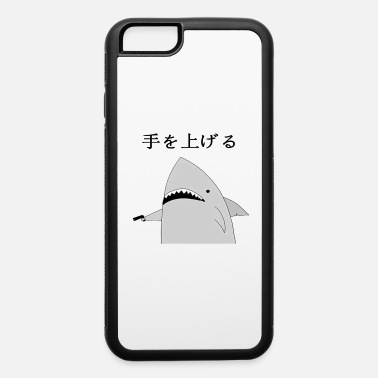 Fish Holding A Gun Japanese fish hold up - iPhone 6 Case