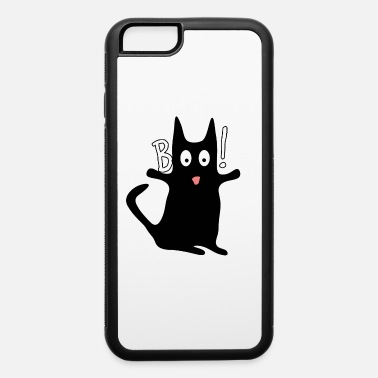 Cute Black Cat Halloween Gift - iPhone 6 Case