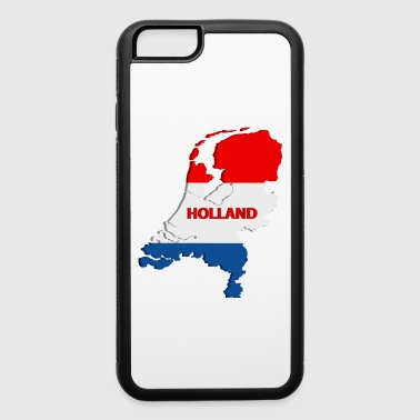 Holland map - iPhone 6/6s Rubber Case