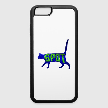 Data's Cat Spot (Blue and Green) - iPhone 6/6s Rubber Case