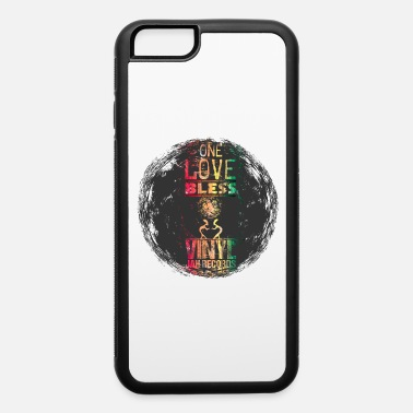 Rasta vinyl reggae - iPhone 6/6s Rubber Case